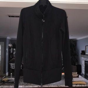 Lululemon zip jacket black size 10